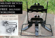 Lucas Front Carrier Rack Ww1 Army Military Cyclist Bicycle Vintage Antique Repro