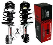 For Toyota Camry 1995-1996 2.2l Pair Of Front Struts W/ Coil Springs Fcs Set