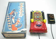 Vintage Soviet Rover Space Exploration Battery Op Remote Toy Box Russia Ussr