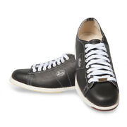 Linds Classic Black Right Handed Mens Bowling Shoes