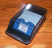 Rubbermaid Rolodex Desktop Business Card / Address Book / Contact File Organizer