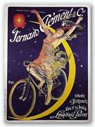 Clement Bicycles By Pal Vintage Art Print