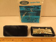 2 Pcs Ford 1984/85 Lincoln Town Car Cover Asy Front Seat Back Robe Cord End