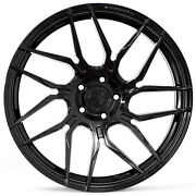 20 Rohana Rfx7 Gloss Black Concave Wheels For Volkswagen