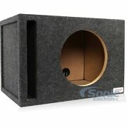 Atrend 13w7sv Vented Ported 13 Subwoofer Enclosure Box For Jl Audio 13w7 Subs