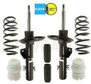 For Bmw E83 X3 04-10 Steam Front Strut Assemblies And Coil Springs Bellow Boot Kit