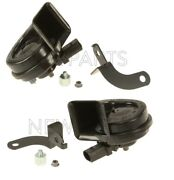 For Porsche Cayenne Pair Set Of High Tone And Low Tone Horns Oem Brand New