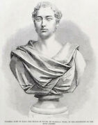 Alexander The Great - Of Wales 1863 Statues Victorian Engraving