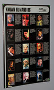 1995 Star Trek The Next Generation Tng 35 By 23 Inch Humanoids Tv Series Poster