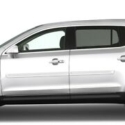 Body Side Moldings Painted With Chrome Trim Insert For Lincoln Mkt 2010-2018