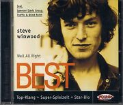 Winwood Steve Well All Right Best Of Zounds Cd