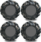 4 High Lifter Outlaw2 Atv Tires Set 2 Front 32.5x10.5-14 And 2 Rear 32.5x10.5-14