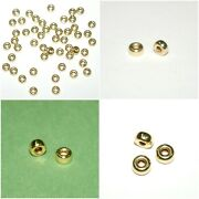 Wholesale Lots 14kt Gold Filled Rondelle Spacer Beads 3mm, 4mm And 5mm