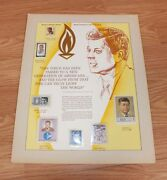 Authentic Stamp Tribute To John F. Kennedy World Of Stamps Collectibles Only