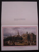 Gerald R Ford 1976 White House Official Christmas Gift Print Card