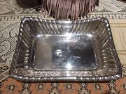 Reed And Barton Sterling Silver Antique Bread Basket