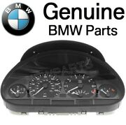 For Bmw E46 3 Series Automatic Trans Instrument Cluster Table Uncoded Genuine