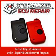 Ferrari Keyfob Entry Remote 355 360 456 550 575 New And Upgraded Set Of 2 315mhz