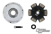 Clutchmasters Fx400 For 00-04 Porsche Boxster S 3.2l Hd 6-puck Disc Dampened