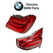 For Bmw G12 7-series Set Of Right Inner And Outer Taillights Assemblies Genuine