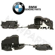 For Bmw F10 F02 Set Of Front Left And Right Soft Close Door Lock Mechanism Genuine