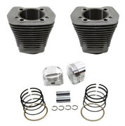 Wiseco 111 Silver 3 5/8 88 Big Bore Engine Kit Harley Softail Dyna Touring