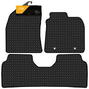 Toyota Avensis 2011-on Facelift Tailored 3mm Rubber Heavy Duty Car Floor Mats