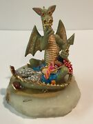 Vintage Ron Lee Shhh Dragon And Napping Clown Signed/numbered Artist Proof 1989