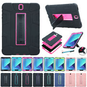 For Samsung Galaxy Tablet Shockproof Heavy Duty Hard Hybrid Rubber Case Cover