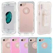 Clear Defender Shockproof Case Cover For Iphone X Xs Max 6 7 8 Plus 11 Pro +clip