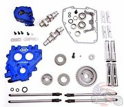 Andrews Sands Gear Drive Driven Camshaft Upgrade Install Kit Package Harley 54g