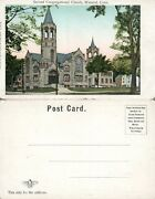 Winsted Ct Second Congregational Church Undivided Antique Postcard