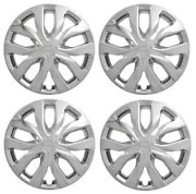 New 17andrdquo Shiny Chrome Hubcap Wheelcover Fits 2014-2018 Nissan Rogue Set Of 4