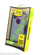 Otterbox Rugged Defender Case/ Holster For Apple Iphone 4s 4 Pink Grey Thermal