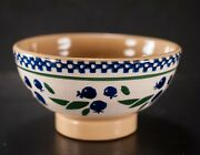 Nicholas Mosse Pottery Small Footed Bowl Blueberries