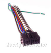 New 16 Pin Auto Stereo Wire Plug Harness For Pioneer Avh-x1500dvd Player