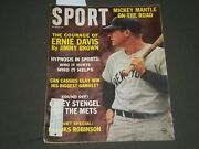 1963 October Sport Magazine - Mickey Mantle Cover - Great Photos - Sp 2815