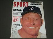 1967 May Sport Magazine - Mickey Mantle Cover - Great Photos - Sp 2816