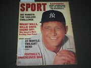 1965 August Sport Magazine - Mickey Mantle Cover - Great Photos - Sp 2817