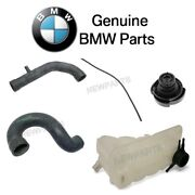 For Bmw E34 M5 3.6 L6 Upper And Lower Radiator And Breather Hoses Expansion Tank Kit