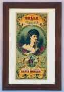 3 Of 3 Beautiful Lithographed Tobacco Crate Labels. Late 1800's Original, Unused