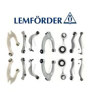 For Bmw F06 F10 F12 F13 Front And Rear Control Arms W/ Bushings Kit Lemforder Oem
