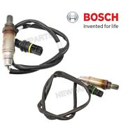 For Bmw E46 E36 M3 Z3 Pair Set Of Front And Rear Oxygen Sensors Oem Bosch
