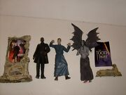 Mcfarlane Movie Maniacs Monster Loose Figure Lot Tooth Fairy Shaft And Psycho