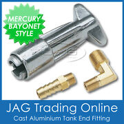 Mercury/mariner Bayonet Female Fuel Tank End Fitting For Boat/outboard Fuel Line