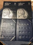 Lot Of 15 Whitman Coin Albums Nickels Dimes Quarter Penny And Canadian Good Shape