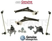 For Audi Vw Front Lower Control Arms And Bushings Ball Joints Bar Link Kit Genuine