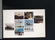192 Brochure Hélicoptère Aircraft Helicopter Bell 1973