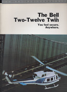 192bis Brochure Hélicoptère Aircraft Helicopter Bell Two-twelve Twin