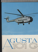 192 Brochure Hélicoptère Aircraft Helicopter Agusta Bell 101g